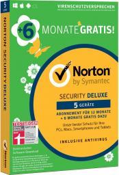 Symantec Norton Security Deluxe 5 Urządzeń 18 Miesięcy