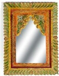 Belldeco Sahara Lustro W Kolorowej Ramie 42x5x57
