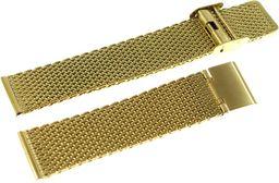 Diloy Bransoleta stalowa do zegarka Diloy MESH10-22-G 22 mm