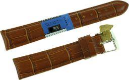 Diloy Skórzany pasek do zegarka 18 mm Diloy SL1.18.3