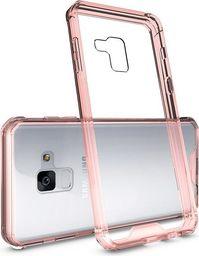 Hurtel Shockproof żelowy pokrowiec wzmocnione etui Samsung Galaxy A8 2018 A530 różowy