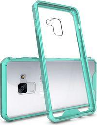 Hurtel Shockproof żelowy pokrowiec wzmocnione etui Samsung Galaxy A8 2018 A530 zielony
