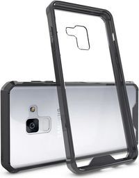 Hurtel Shockproof żelowy pokrowiec wzmocnione etui Samsung Galaxy A8 2018 A530 czarny