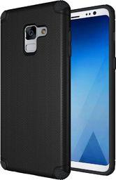 Hurtel Light Armor Case wytrzymałe etui pokrowiec Samsung Galaxy A8 2018 A530 czarny