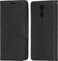 Hurtel Fancy Case etui pokrowiec z funkcją podstawki Huawei Y7 czarny