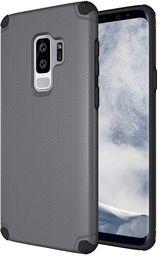 Hurtel Light Armor Case wytrzymałe etui pokrowiec Samsung Galaxy S9 Plus G965 szary (bez płytki magnetycznej)