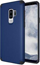 Hurtel Light Armor Case wytrzymałe etui pokrowiec Samsung Galaxy S9 Plus G965 granatowy (bez płytki magnetycznej)