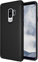 Hurtel Light Armor Case wytrzymałe etui pokrowiec Samsung Galaxy S9 Plus G965 czarny (bez płytki magnetycznej)
