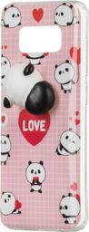 Hurtel Żelowy pokrowiec etui Squishy animal gumowa zabawka 4D gniotek Huawei P9 Lite Mini panda