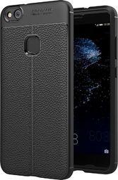 Hurtel Litchi Pattern elastyczne etui pokrowiec Huawei P10 Lite czarny