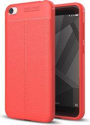 Hurtel Litchi Pattern elastyczne etui pokrowiec Xiaomi Redmi 5A czerwony