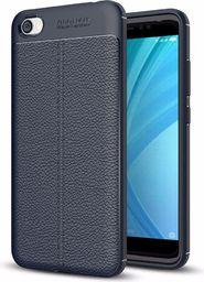 Hurtel Litchi Pattern elastyczne etui pokrowiec Xiaomi Redmi 5A niebieski