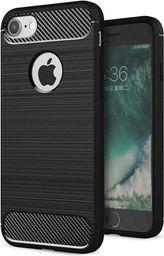 Hurtel Etui iPhone 8 / 7 Carbon Case elastyczne pokrowiec czarny