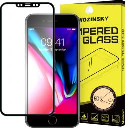 Wozinsky Szkło hartowane 5D Full Glue iPhone X Wozinsky PRO+ super wytrzymała osłona na cały ekran z ramką czarny