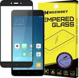 Wozinsky Szkło hartowane z żelową ramką do Xiaomi Redmi Note 4 czarny (25807-uniw)