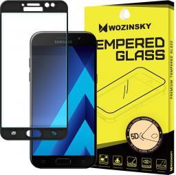 Wozinsky Szkło hartowane 5D Full Glue Samsung Galaxy A5 2017 A520 PRO+ super wytrzymała osłona na cały ekran z ramką czarny