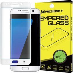 Wozinsky Szkło hartowane Samsung Galaxy S7 Edge G935 Wozinsky osłona 3D na cały ekran z ramką biały