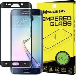 Wozinsky Szkło hartowane Samsung Galaxy S6 Edge G925 Wozinsky osłona 3D na cały ekran z ramką czarny