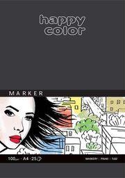 Blok biurowy Happy Color BLOK 20X20 CM HAPPY COLOR BIAŁY 25K DO MARKERÓW