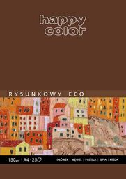 Blok biurowy Happy Color BLOK RYSUNKOWY A3  HAPPY COLOR BRĄZ 25K
