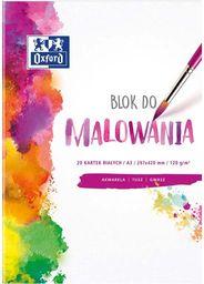 Blok biurowy Oxford BLOK DO MALOWANIA OXFORD A4 20K 120G