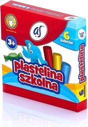 Astra PLASTELINA SZKOLNA AS 6 KOLORÓW