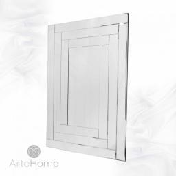 Artehome Penelopa - prostokątne lustro dekoracyjne w ramie lustrzanej