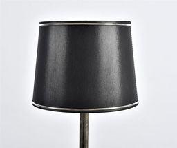 Belldeco Abażur Stożek czarny 20x17x15 cm (42877-uniw)