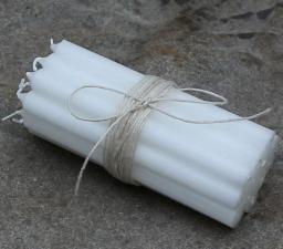 Chic Antique Świeca biała (47925-uniw)