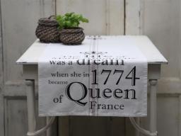 Chic Antique Bieżnik Na Stół Marie Antoinette