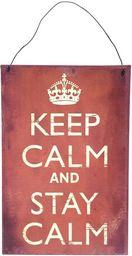 Chic Antique Obrazki Metalowe Keep Calm