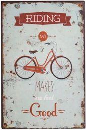 Chic Antique Obrazki Metalowe Chic Antique Rower