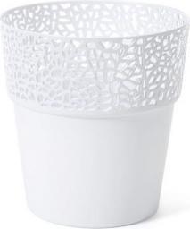 Lamela Osłonka ażurowa Rosa biała (8898-uniw)
