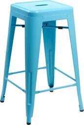D2 Design Hoker Paris 75cm niebieski insp. Tolix