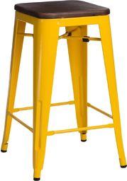 D2 Design Hoker Paris Wood 65cm żółty, sosna orzech