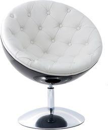 D2 Design Fotel Mercury pikowany biały