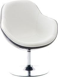 D2 Design Fotel Pezzo K- czarny, 906 biały