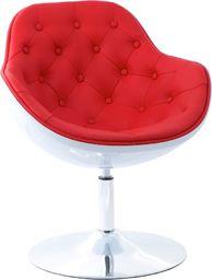 D2 Design Fotel Pezzo pikowany 913 czerwony