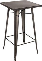D2 Design Stół barowy Paris metaliczny