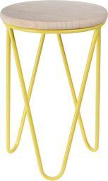 D2 Design Taboret Lapsy żółty (125322)