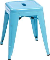 D2 Design Stołek Paris niebieski