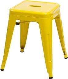 D2 Design Stołek Paris żółty