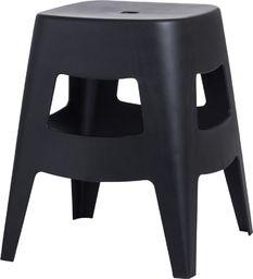D2 Design Stołek Tower czarny