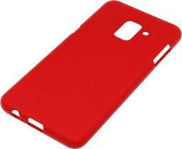 Mercury Goospery Etui soft jelly SAMSUNG A8+ 2018 czerwony