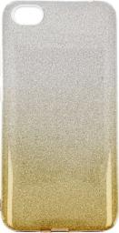 nemo Etui Glitter Xiaomi Redmi 5A srebrno- złote