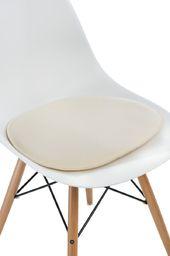 D2 Design Poduszka na krzesło Side Chair ecru