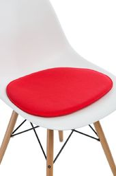 D2 Design Poduszka na krzesło Side Chair czerwona