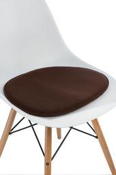 D2 Design Poduszka na krzesło Side Chair brązowa
