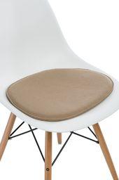 D2 Design Poduszka na krzesło Side Chair beżowa