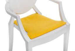 D2 Design Poduszka na krzesło Royal żółta